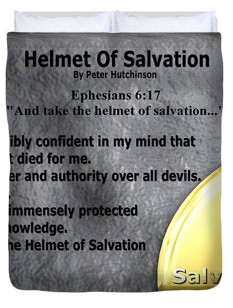 Helmet Of Salvation Photograph By Bible Verse Pictures