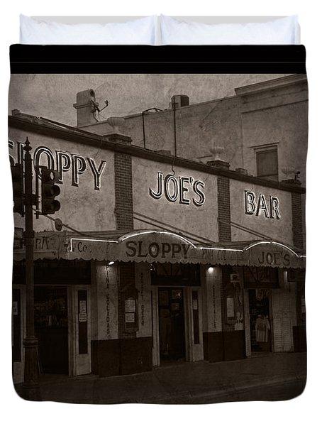 Hemingway Was Here Duvet Cover by John Stephens