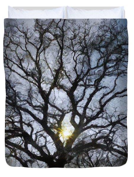 Here Comes the Sun Duvet Cover by Jeff Kolker