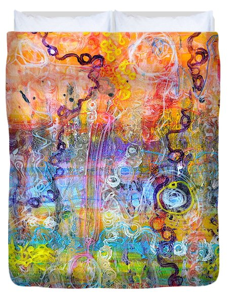 Heterotroph Hypothesis Duvet Cover by Regina Valluzzi