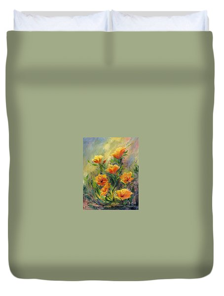 Hibiscus Duvet Cover by Madeleine Holzberg