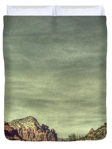 High Country Duvet Cover by Dan Stone