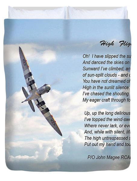 High Flight Duvet Cover by Pat Speirs