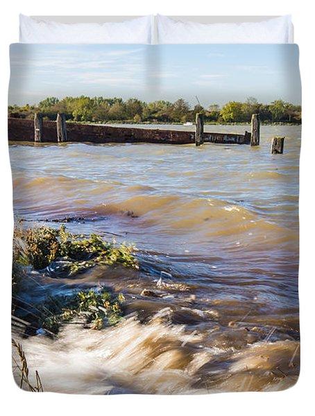 High Tide Duvet Cover by Dawn OConnor