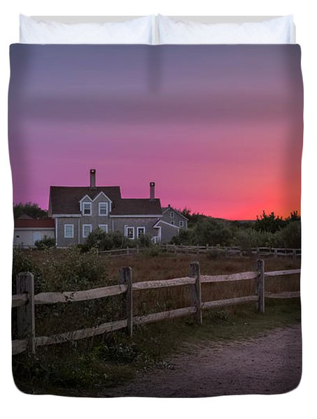 Highland Light Duvet Cover by Bill  Wakeley
