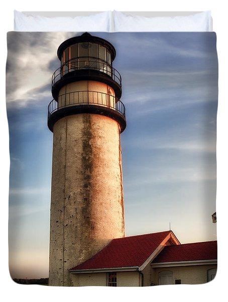 Highland Lighthouse Duvet Cover by Mark Papke