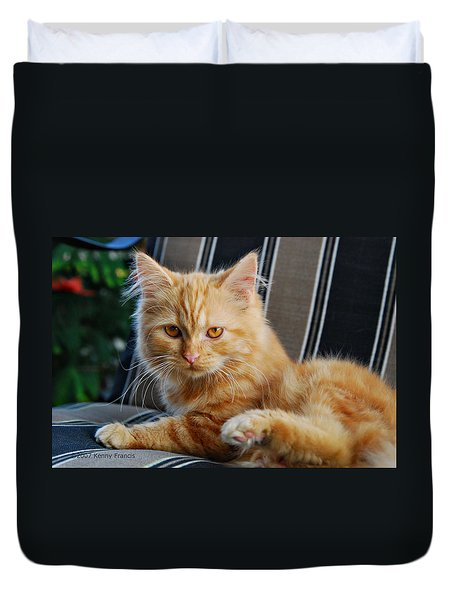 His Royal Highness Duvet Cover by Kenny Francis