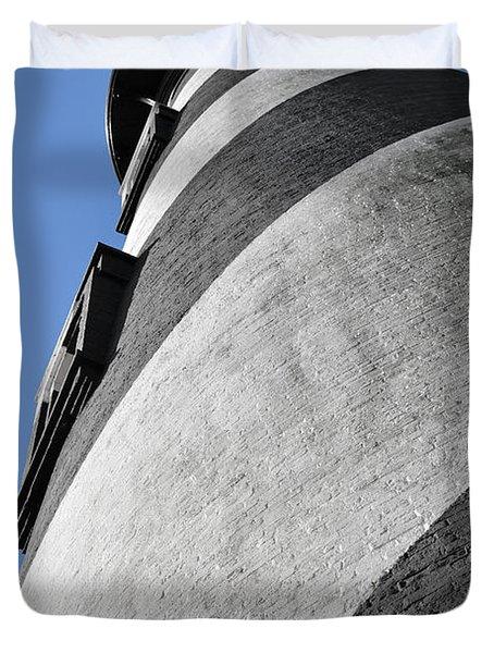 Historic St Augustine Lighthouse Duvet Cover by Christine Till
