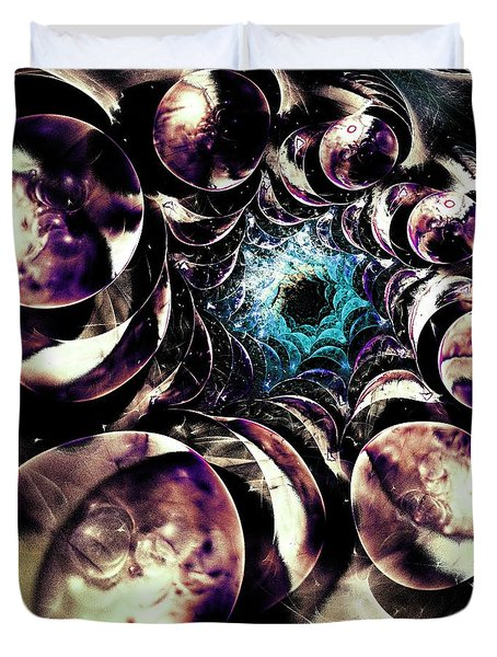 Historical Perspective Duvet Cover by Anastasiya Malakhova