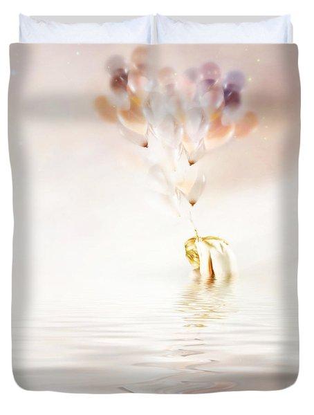 Hold On To Hope Duvet Cover by Jacky Gerritsen