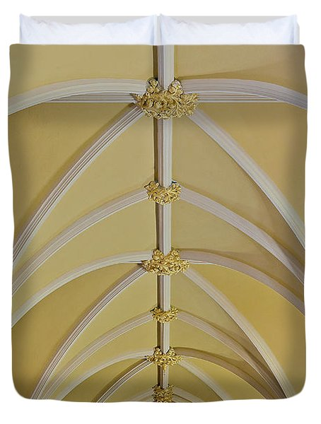Holy Arches Duvet Cover by Susan Candelario
