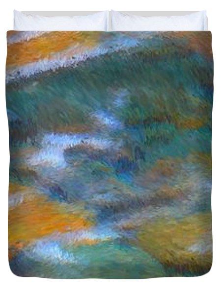 Homage To Van Gogh 2 Duvet Cover by Carol Groenen