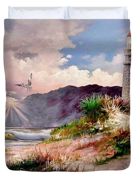 Home for the Night Duvet Cover by Ronald Chambers
