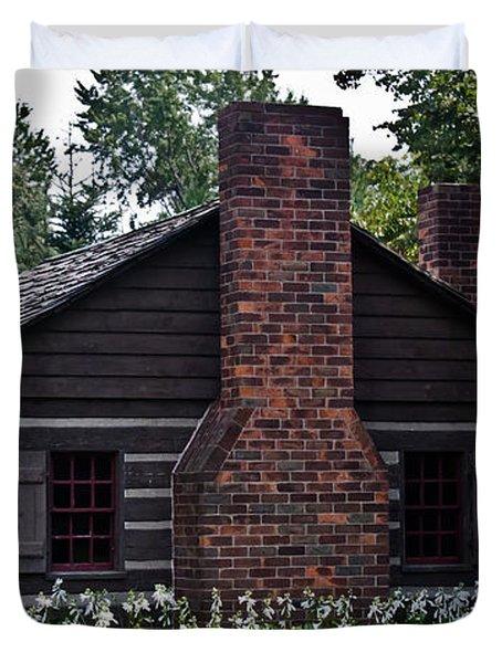 Home Sweet Home Duvet Cover by Joann Copeland-Paul