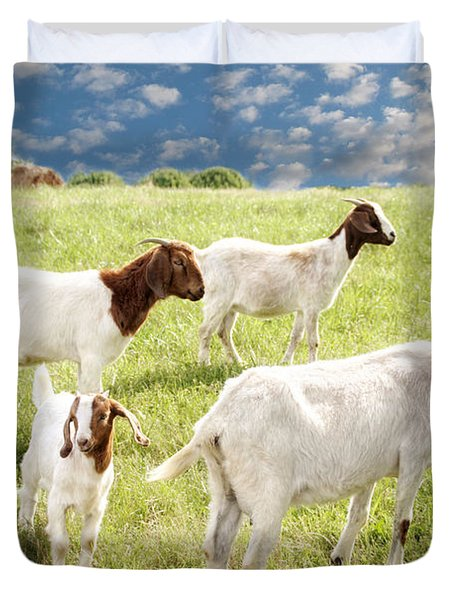 Homeward Bound Duvet Cover by Amy Tyler