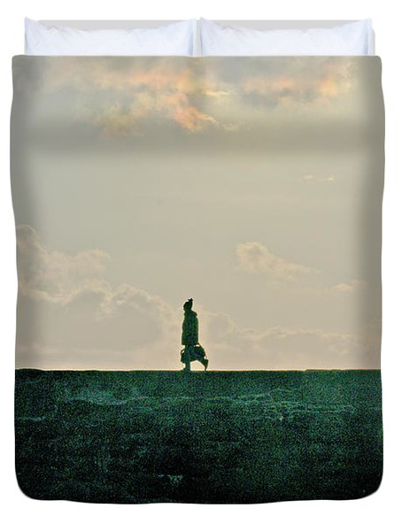 Homeward Bound Duvet Cover by Terri Waters