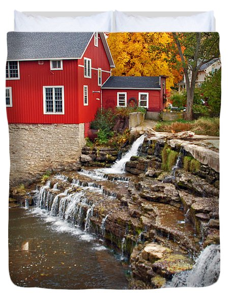 Honeoye Falls 1 Duvet Cover by Aimee L Maher Photography and Art Visit ALMGallerydotcom