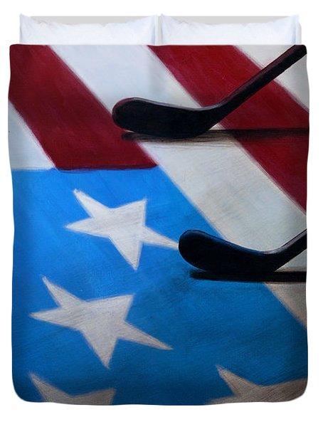 Honoring America Duvet Cover by Marlon Huynh