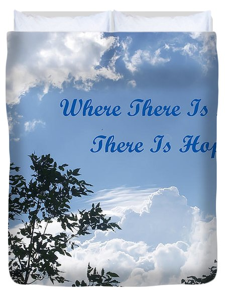 Hope Duvet Cover by Aimee L Maher Photography and Art