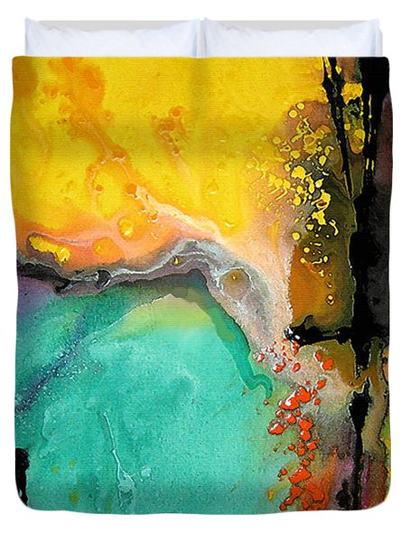Hope - Colorful Abstract Art By Sharon Cummings Duvet Cover by Sharon Cummings
