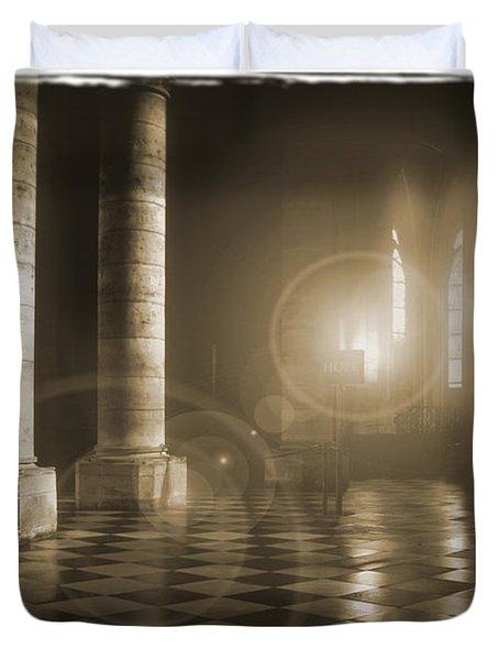 Hope Shinning Through Duvet Cover by Mike McGlothlen