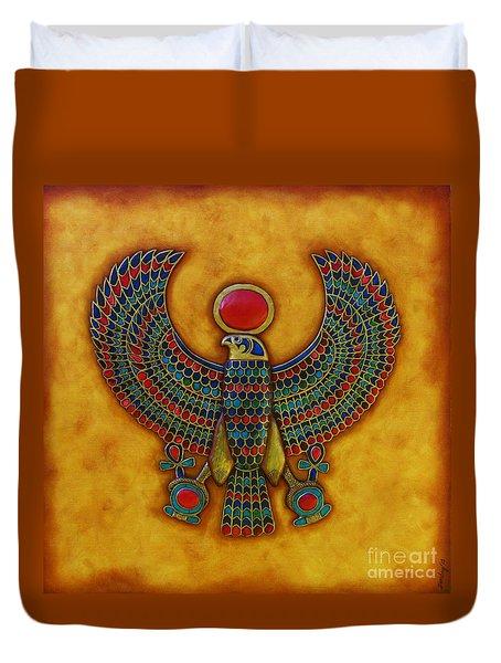 Horus Duvet Cover by Joseph Sonday
