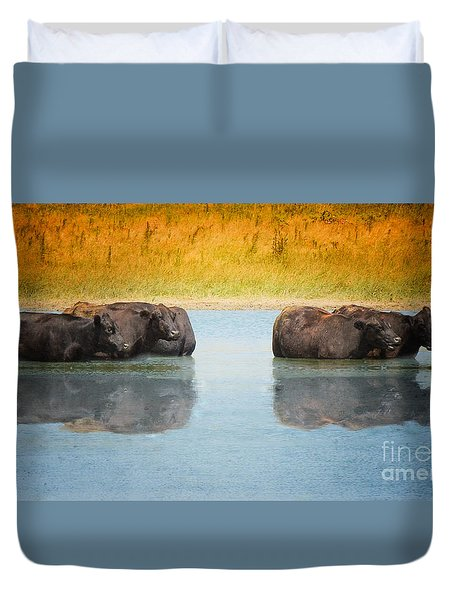 Hot Day Duvet Cover by Betty LaRue