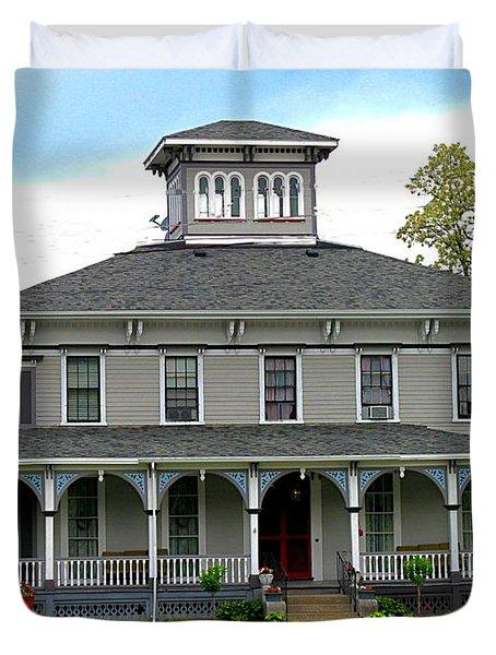House Duvet Cover by Rhonda Barrett