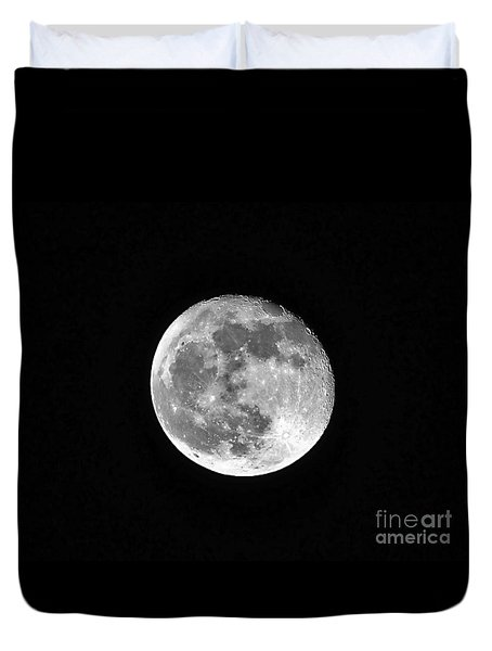 Hunters Moon Duvet Cover by Al Powell Photography USA