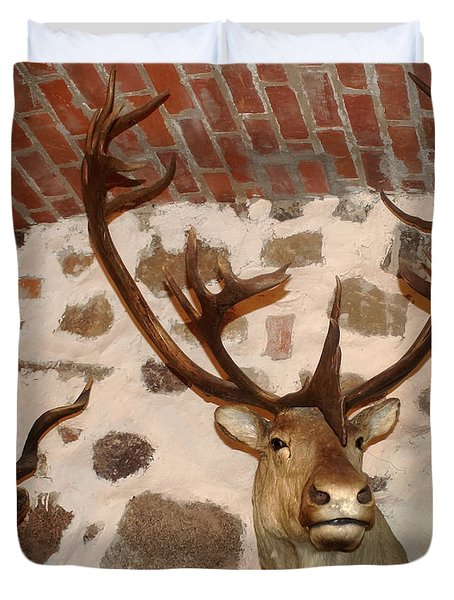 Hunting Trophys Duvet Cover by Rudi Prott