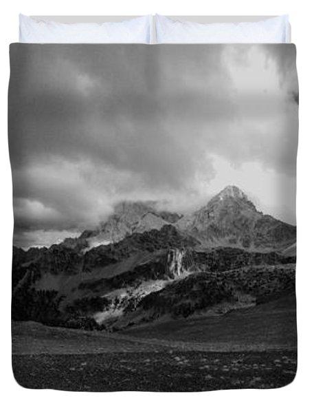 Hurricane Pass Storm Duvet Cover by Raymond Salani III