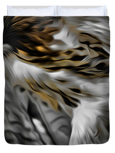 I Am Redtail Duvet Cover by Bill  Wakeley