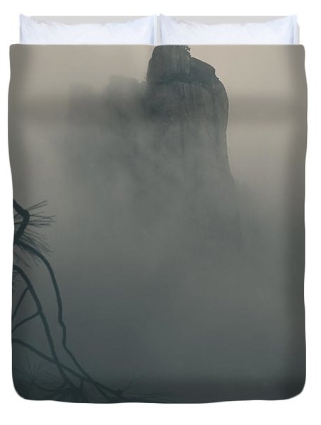 I Can Barely Remember Duvet Cover by Laurie Search