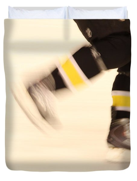 Ice Speed Duvet Cover by Karol Livote