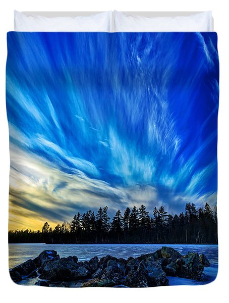 Icebound 3 Duvet Cover by Bill Caldwell -        ABeautifulSky Photography