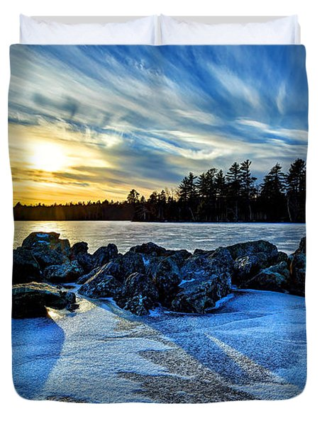 Icebound 5 Duvet Cover by Bill Caldwell -        ABeautifulSky Photography