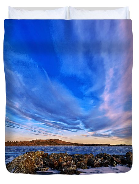 Icebound 6 Duvet Cover by Bill Caldwell -        ABeautifulSky Photography