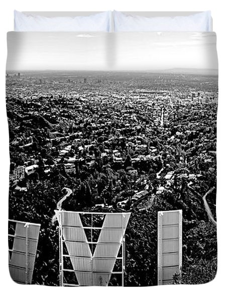 Iconic Hollywood  Duvet Cover by Art K