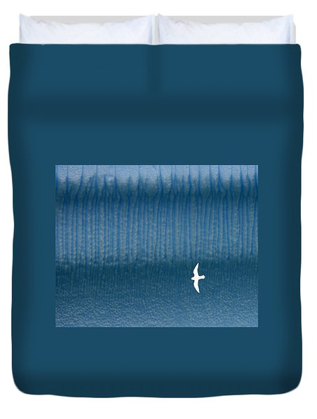 Icy Angel Duvet Cover by Tony Beck