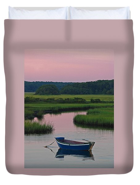 Idyllic Cape Cod Duvet Cover by Juergen Roth