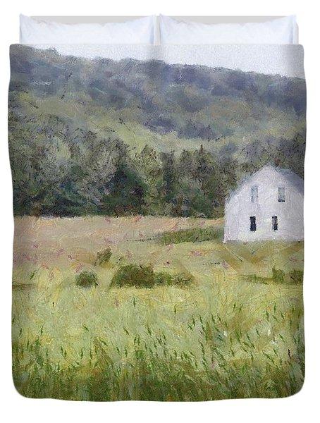 Idyllic Isolation Duvet Cover by Jeff Kolker