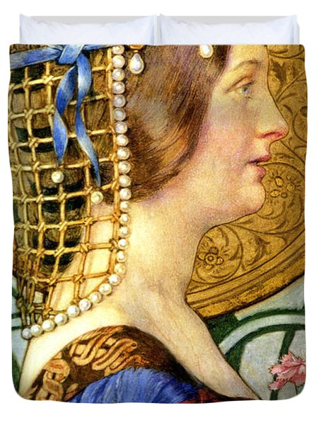 If One Could Have That Little Head Of Hers Duvet Cover by Eleanor Fortescue Brickdale