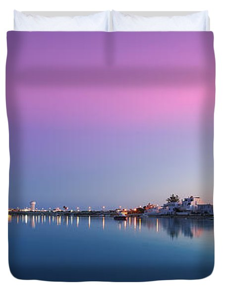Ilha De Faro Duvet Cover by English Landscapes