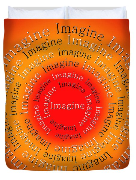 Imagine 5 Duvet Cover by Andee Design