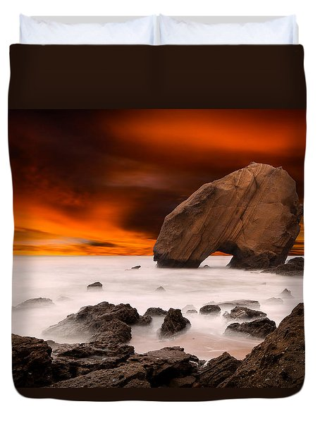 Imagine Duvet Cover by Jorge Maia