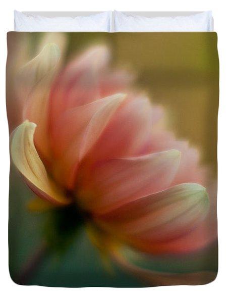 Impressionist Dahlia Duvet Cover by Mike Reid