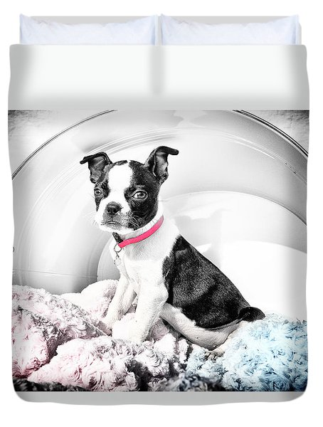 In A Bucket Duvet Cover by Lori Frostad
