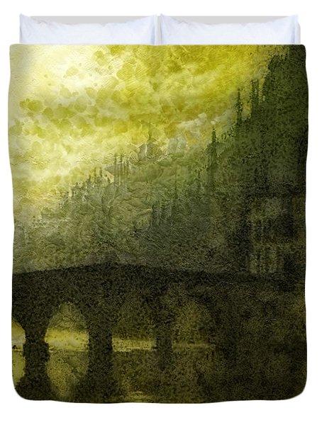 In Fair Verona Duvet Cover by Mo T