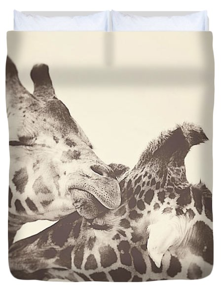 In Love Duvet Cover by Carrie Ann Grippo-Pike