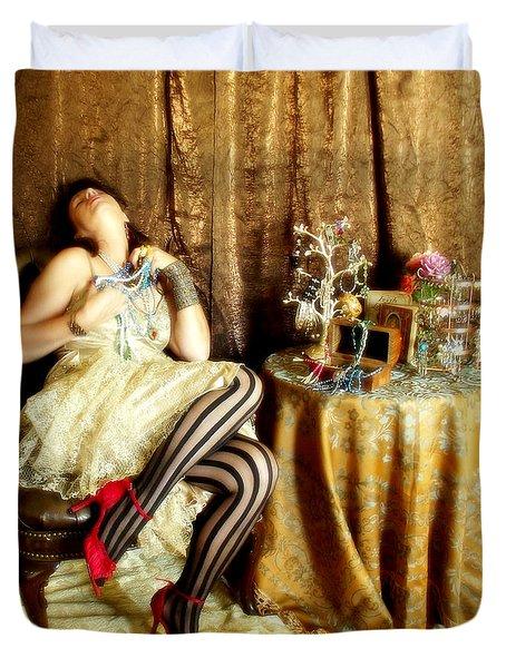 In Love Duvet Cover by Cindy Nunn
